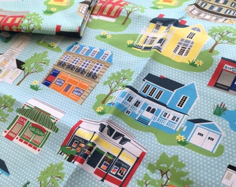 "Stars Hollow Fabric, fat quarter 18"" x 22"""