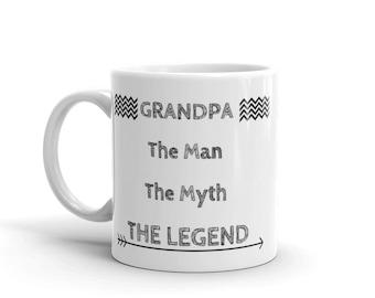 grandpa coffee mug, grandfather mug, grandpa mug, grandpa gift, gift for grandpa, gift for grandfather, grandfather gift, best grandpa gift