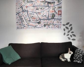 Mega Map of Leiden