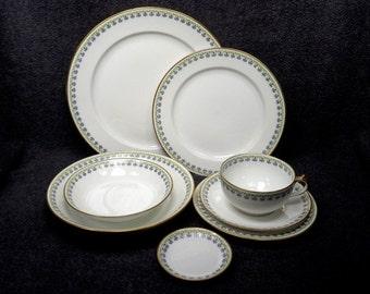 Antique GDA Limoges France CH Field Haviland Dinner Set - Eight Piece Dinnerware Set - French & Violet haviland | Etsy