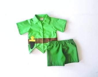 Peter Pan Costume - Peter Pan Outfit - Peter Pan Set - Pirate Night - Neverland Outfit - Halloween Costume - Neverland - Birthday Costume