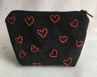All my hearts for you coin purse