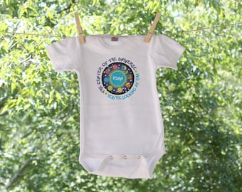 Center of the Universe - you're looking at him or her Infant Bodysuit