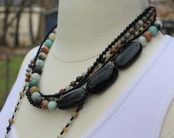 Skylar Multi Strand Necklace