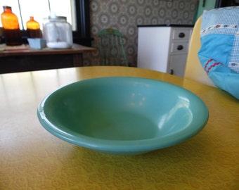 Vintage Turquoise Melamine Bowl Turquoise Blue Melamine Cereal Bowl Turquoise Melamine Dish & 1950s melamine dinnerware   Etsy