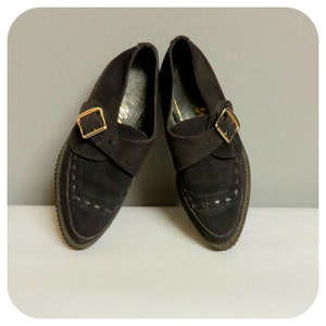 Vintage 80s/90s woman creepers  shoes by Shelly's 35/36
