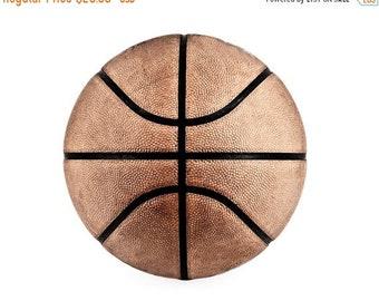 FLASH SALE til MIDNIGHT Vintage Basketball on White  Photo Print,Decorating Ideas, Wall Decor, Wall Art,  Kids Room, Nursery Ideas, Gift Ide