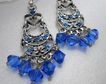 Royal Heart Earrings
