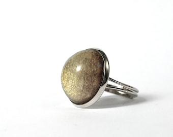 Mercury platinum plated ring, Gemini (May 21 -June 21) Virgo (August 23 and September 22), antiallergic jewelry,  Constellation Jewelry