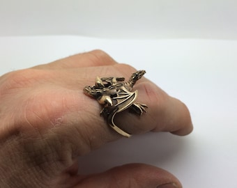 Bronze Dragon Ring