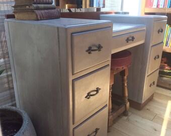 SOLD - Art Deco Dresser in ASCP French Linen