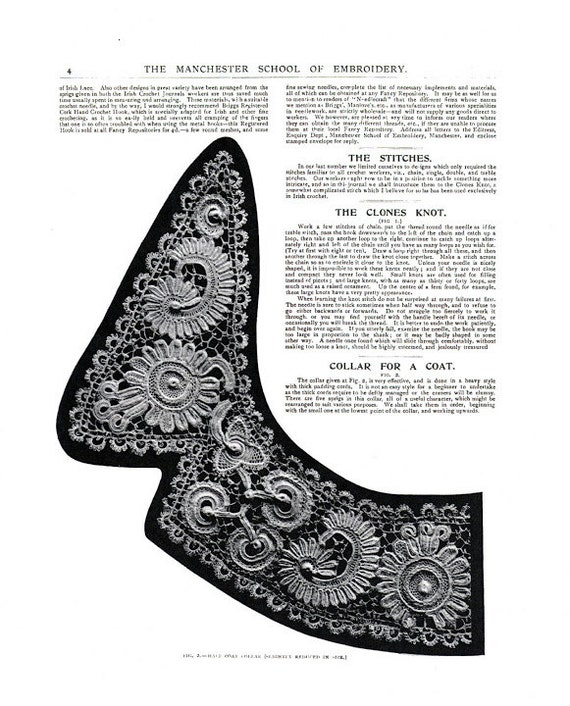 Almost free instant pdf vintage crochet pattern booklet irish this is a digital file dt1010fo