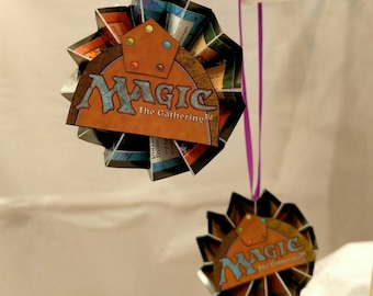 Magic The Gathering Card Ornaments - MTG - Gift Box - Flat