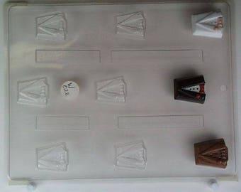 Wedding Tuxedo Mold Candy Chocolate Soap Ice Crayon Candle Fondant Baking Supplies Jenuine Crafts
