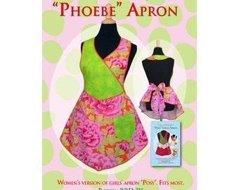 Phoebe apron sewing pattern