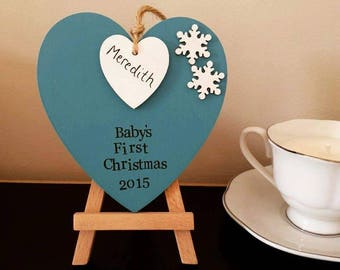 Baby's First Christmas Decoration, My First Christmas, Tree Decoration, Personalised Christmas Decoration, Baby's First Christmas