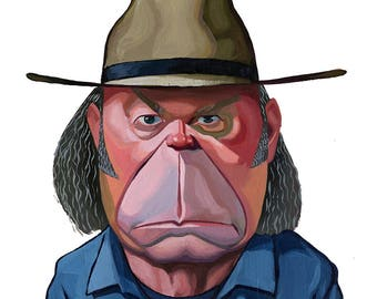 Neil Young - Limited Edition Print