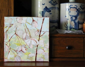Weeping Cherry-10x10 Canvas