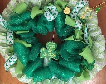 This is an irish wreath