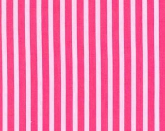 Nine (9) Yards - Clown Stripe Pink Fabric Michael Miller CX3584-Girl-D