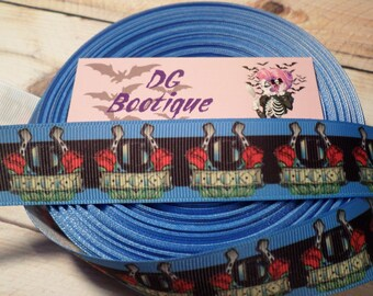 Grosgrain Ribbon, tattoo ribbon, Lucky 13, Horseshoe