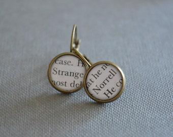 Strange and Norrell, Jonathan Strange and Mr Norrell Earrings