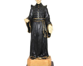 """10"""" Hand Painted Dr Sousa Martins Religious Statue #13105"""
