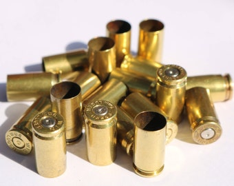 Once Fired Brass 9mm Bullet Brass Casings -  Spent brass 9mm - Qty. 50x
