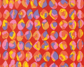 Spring 2017 by Philip Jacobs for Free Spirit - Baubles - Red - 1/2 yard Cotton Quilt fabric 417