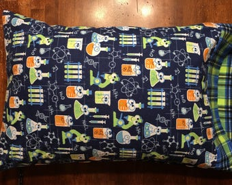 Chemistry lab pillowcase, science, research, pillowcase, bedding, girls in science, boys in science