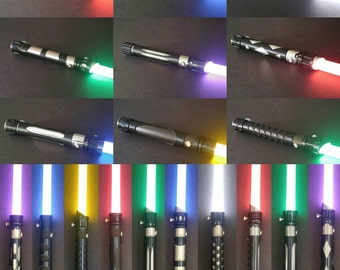 Handcrafted Lightsaber Props By Saltlakesaberco On Etsy