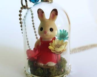 Enchanted Woodland Rabbit Necklace