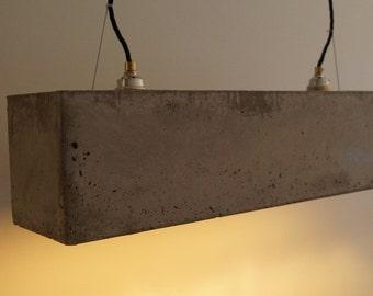 Concrete pendant lamp   Concrete lamp
