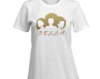 BELLA 100% Cotton Premium SignatureSoft T-Shirt in white or black