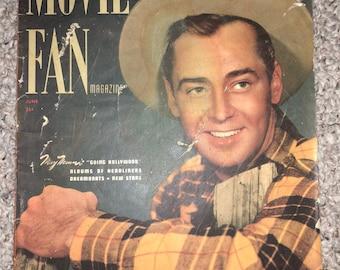 1949 June Movie Fan Magazine rare liz taylor shirley temple gene autry roy rogers