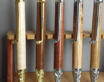 Hand Crafted Wooden Golf Biro