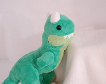 Baby Carnotaurus Custom Handmade Dinosaur Plushie