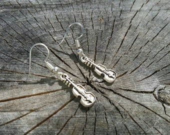 Fiddle/Violin Earrings