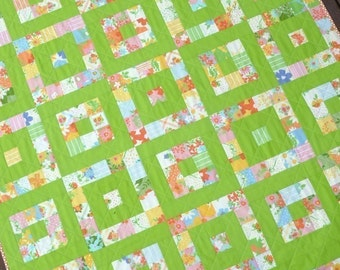 Take 1 - A Layer Cake Quilt - Pattern (PDF file) - Immediate Download