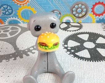 Burger Buddy Robot