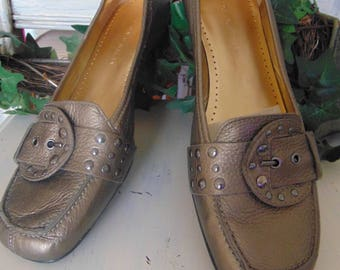 Antonio Melani loafers with buckles