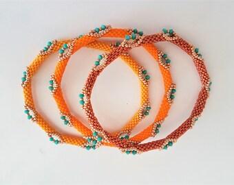 Ménage à trois en orange