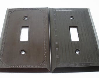 Light Switch Covers Monolite Bakelite Switchplates