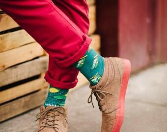 The Pickles socks | men socks | colorful socks | cool socks | mismatched socks | womens socks | unique socks | patterned socks | crazy socks