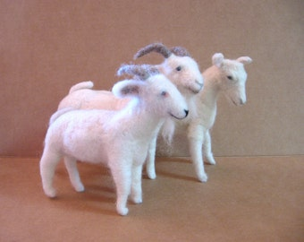 Felted Goat Making Tutorial CD