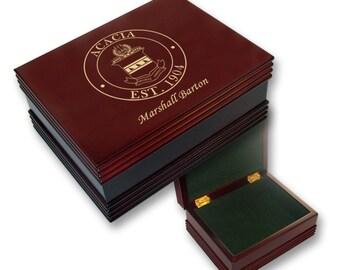 ACACIA Engraved Keepsake Box