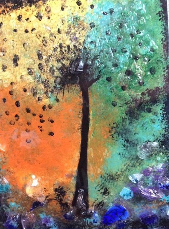 "Workshop: Painting ""Fantasy Tree"" at Makana Art Studio - Biloxi, MS"