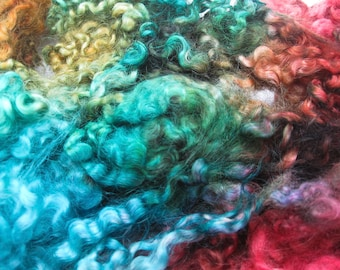 Taos - Hand Dyed Border Leicester Lamb Locks
