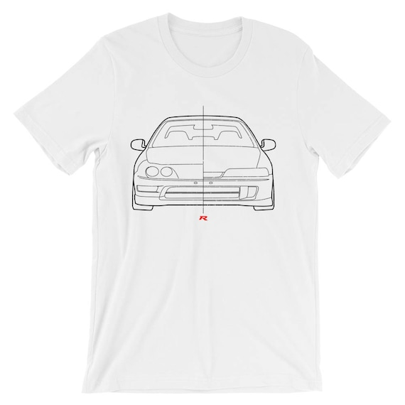 USDM Vs JDM Honda Integra Type R T Shirt