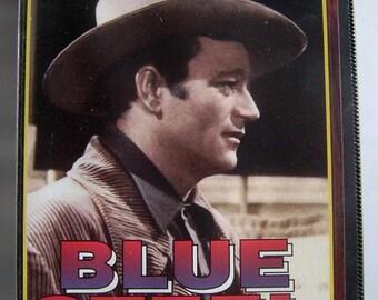 1934 BLUE STEEL John Wayne Western Pal Vhs Video New